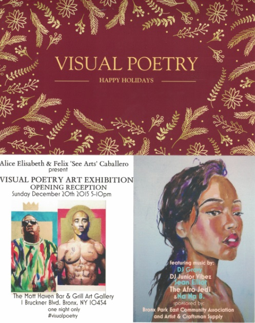 Visual Poetry Invitation