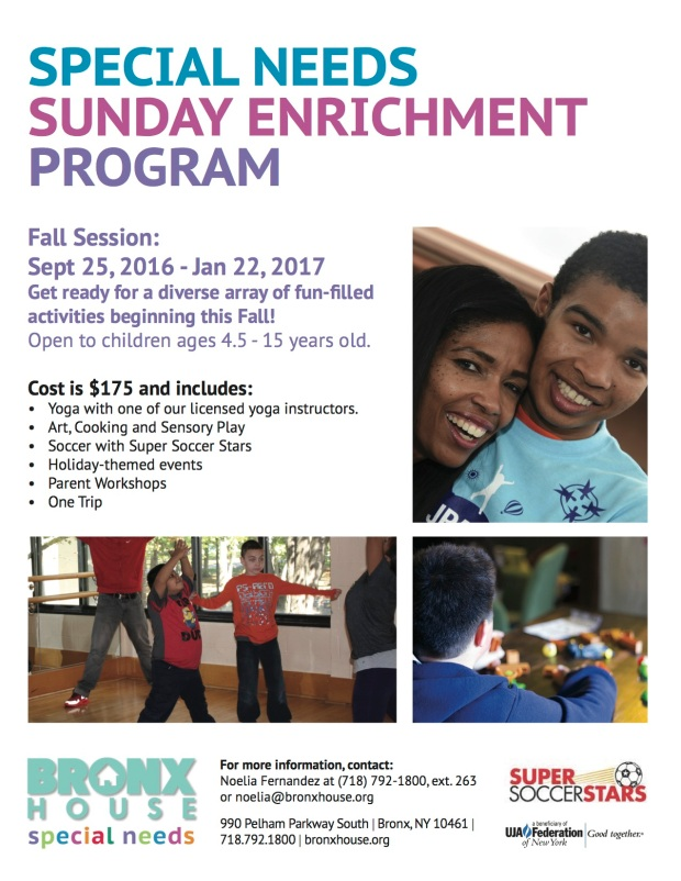 Fall Enrichment 2016